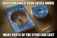 La différence entre le livre et le film