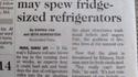 Le frigo va nous tomber sur la tête !