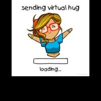 Virtual sending hug
