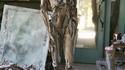 Corps humain en bois flotté