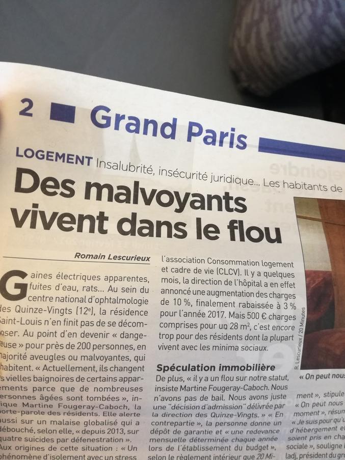 Le stagiaire du 20Minutes à encore frappé. De la grande presse française!