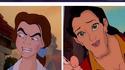 Quand des personnages de disney échangent leur visage.