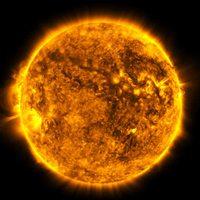 Image de la sonde SDO de la NASA qui observe le Soleil