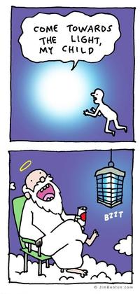 Avance vers la lumière