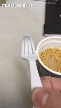 Fourchette à l'italienne
