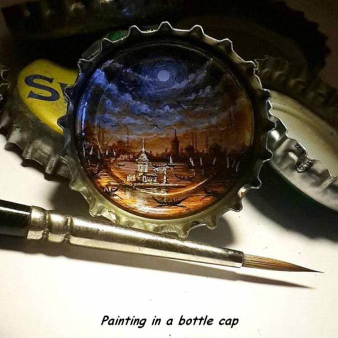 Certains trouvent l'inspiration au fond de leurs verres, et d'autres au sommet de leur bouteille.