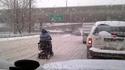 Quand tu sais conduire, la neige tu t'en fous