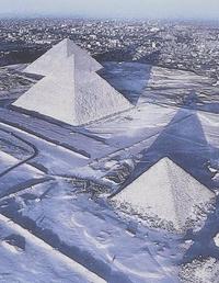 Pyramides glacées