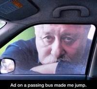 Publicité sur un bus
