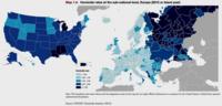 Taux d'homicide en USA et en Europe