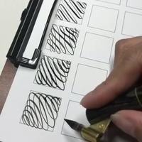 Devoirs de vacances de calligraphie