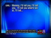 Une petite fille de 8 ans appelle à l'aide