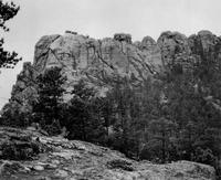 Les monts Rushmore avant 1927...