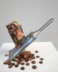 Attend, j'ai qu'un billet de 50, faut que je fasse un peu de monnaie...