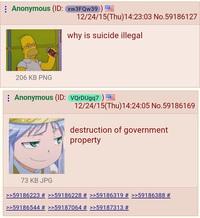 Pourquoi le suicide est illégal ?