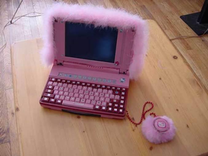 Un PC portable à moumoute