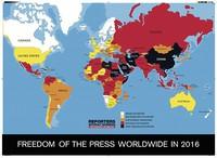 Liberté de la presse en 2016
