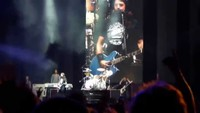 Les Foo Fighters au Chili improvisent une chanson avec le public
