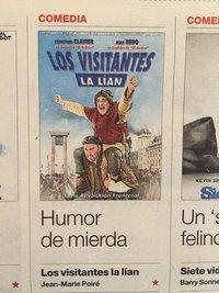 Les visiteurs en Espagne