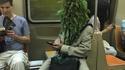 Ecologiste dans le métro