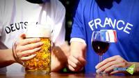 Spot d'une radio allemande pour le match France - Allemagne