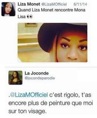Liza Monet vs Mona Lisa