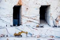 Carrière de marbre en Grèce