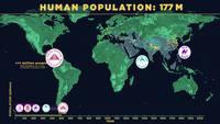 La croissance mondiale depuis 200'000 ans