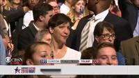 La réaction d'un supporter d'Hillary Clinton quand il apprend qu'elle a perdu