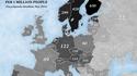 Densité des groupes de metal en Europe