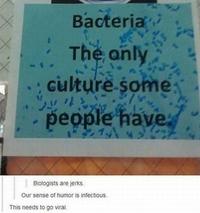 Humour biologiste