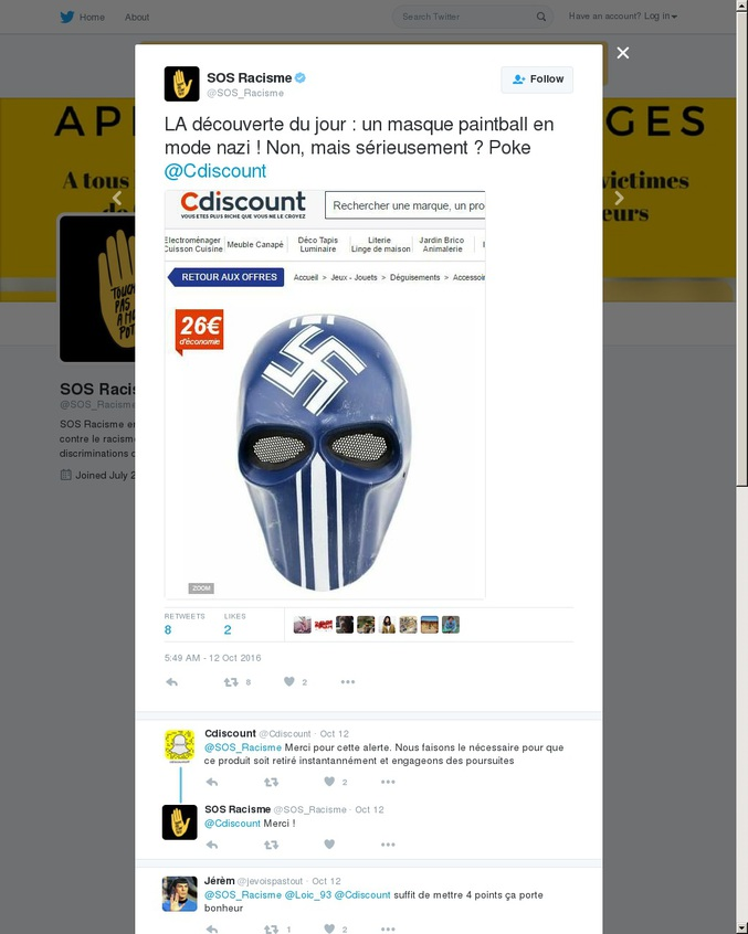 Existe aussi en noir
