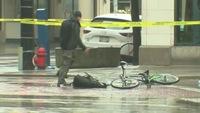 Colis suspect VS Cycliste