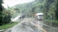Un camion drifte