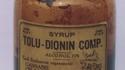 Le sirop pour la toux Tolu-Dionin