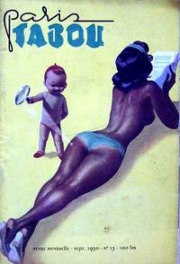 """Couverture de revue """"sexy"""" en 1950"""
