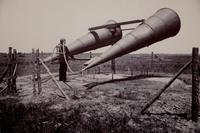 Pendant la 1ère GM: système pour entendre venir les avions...