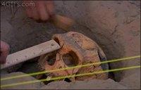 Régis chez les archéologues