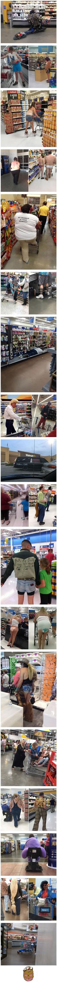 Les gens de Walmart