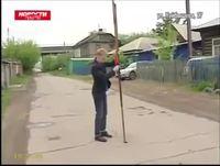 Nid de poule en Russie