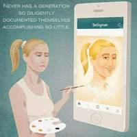 Jamais une génération ne s'est si diligemment documentée accomplissant si peu