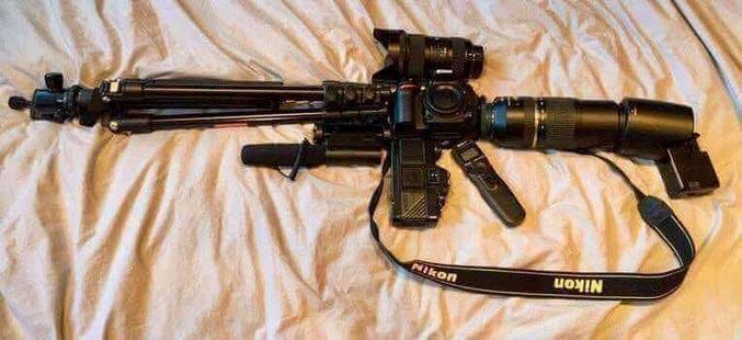 Maintenant, même les civils peuvent rafaler en mode automatique à coup de canon*...  * Oui, j'ai vu.