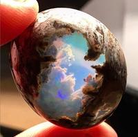 Vue d'une opale