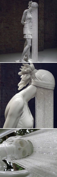 La femme-douche