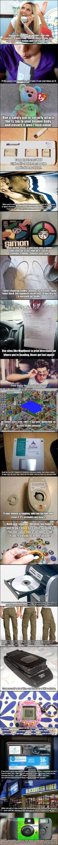 Bienvenue dans les 90's !