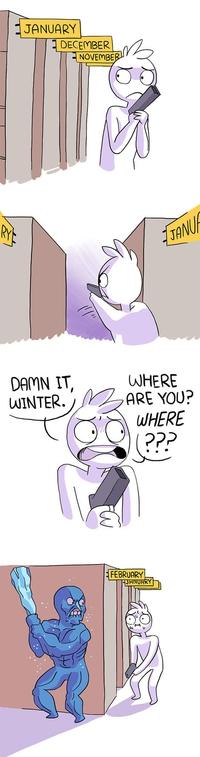 Où es-tu, hiver ?!