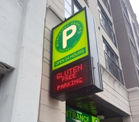 Enfin un parking sans gluten