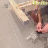 Une caisse à savon faite maison