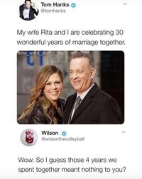 30 ans de vie commune