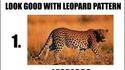 La liste de tous les trucs qui vont bien avec un motif léopard